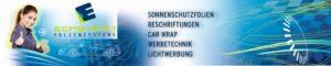 Bei Eckstein Foliensysteme erhalten Sie Sonnenschutzfolien, Fahrzeug-Beschriftungen, Car Wrap, Werbetechnik und vieles mehr!